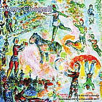 Marc Chagall Wall Calendar 2017