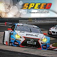 Speed Wall Calendar 2017