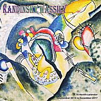 Wassily Kandinsky Wall Calendar 2017