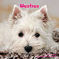 Westies Wall Calendar 2017