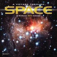 A Voyage Through Space Wall Calendar 2017