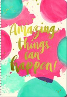 Amazing Things Can Happen On Time Weekly Planner 2017