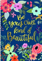 Be Your Own Kind of Beautiful On Time Weekly Planner 2017