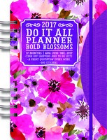 Bold Blossoms Do It All Planner 2017