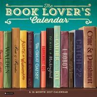 Book Lover's Calendar Wall Calendar 2017