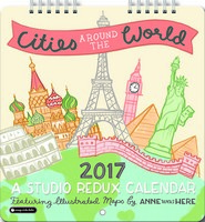 Cities Around the World Mini Wall Calendar 2017