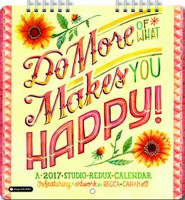 Do More of What Makes You Happy Mini Wall Calendar 2017