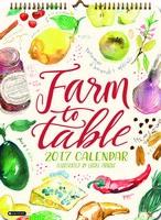 Farm to Table Poster Calendar 2017