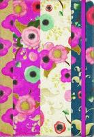 Floral Stripes Deconstructed Planner 2017