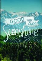 Good Day Sunshine Pocket Planner 2017