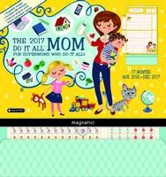 Mom's Do It All Wall Calendar 2017