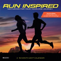 Run Inspired Wall Calendar 2017