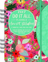 Secret Garden Do It All Planner 2017