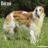Borzoi Wall Calendar 2017