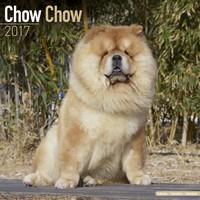Chow Chow Wall Calendar 2017